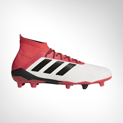 c65c11bacd0a Men s adidas Predator 18.1 FG White Black Coral Boot