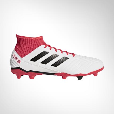 c61c1472fc64 Men s adidas Predator 18.3 FG White Black Coral Boot