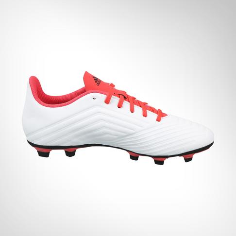 3442727320b2 Men s adidas Predator 18.4 FG White Black Coral Boot
