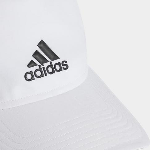 31ecbf44f1f adidas C40 3-stripes Climalite White Cap