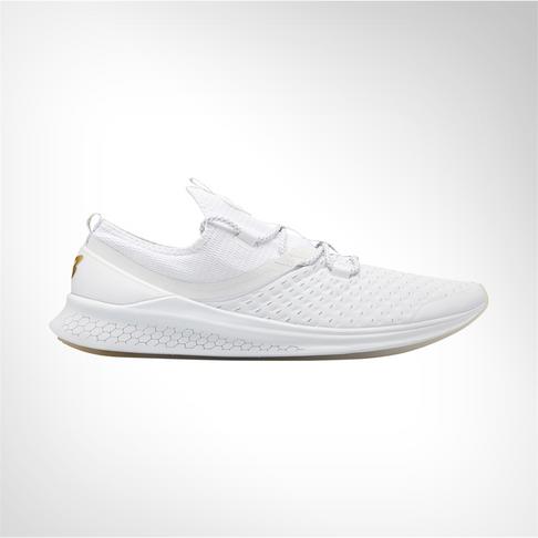 38de2b6b79 Men s New Balance Fresh Foam Lazr Elite White Shoe