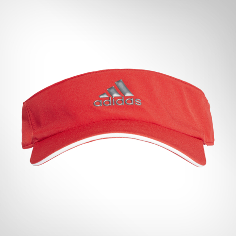 adidas Climalite Red Orange Visor 28a91b0e883