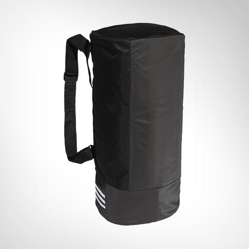 newest 9b356 4bc0d adidas Convertible 3-stripes Medium Black Duffel Bag