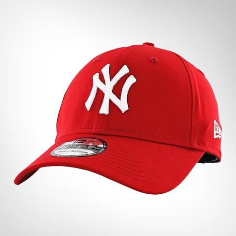 New Era 39Thirty New York Yankees Fitted Red White Peak f3b6cfe8c38