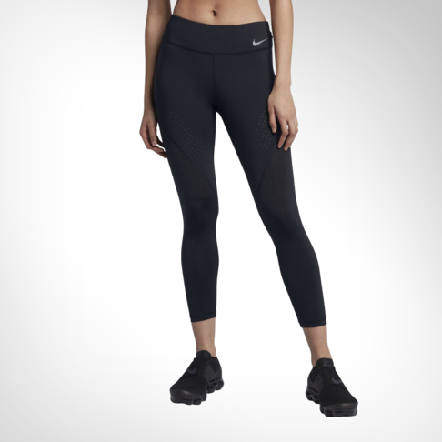 Women s Nike Power Epic Lux Black Crop Tights 1ef026c29