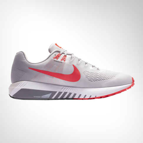 9a2752a95d4 Men s Nike Zoom Structure 21 Grey Red Shoe