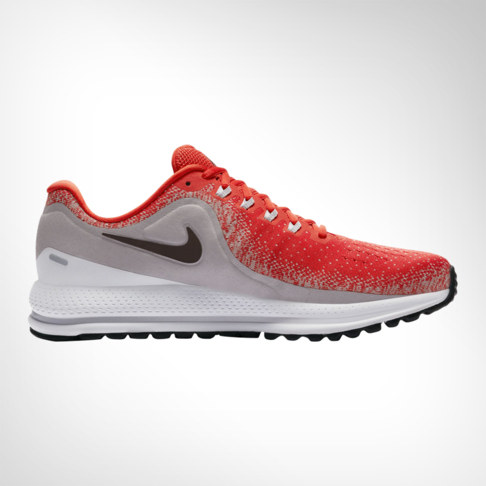 43e9b2f3d63 Men's Nike Zoom Vomero 13 Red/Grey Shoe