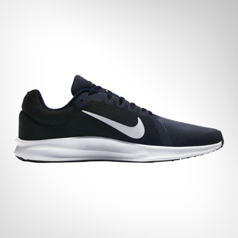 a8eee17d2141 Men s Nike Downshifter 8 Navy White Shoe
