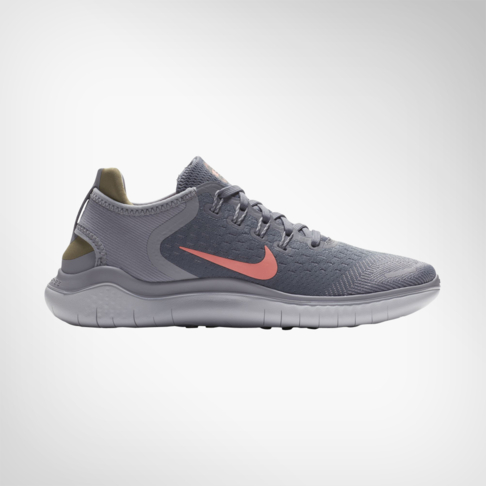 separation shoes 452cf a5d06 ... italy womens nike free rn 2018 grey peach shoe 47178 81a80
