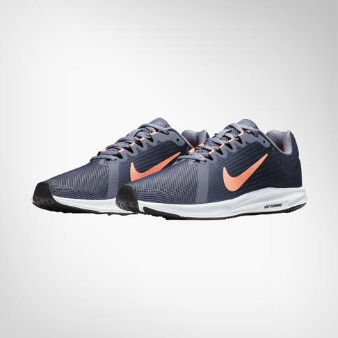 timeless design 96e4b c516d Women s Nike DownShifter 8 Grey Peach Shoe