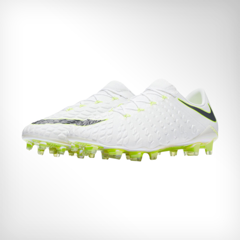 04896aefc Men s Nike Phantom 3 Elite FG White Grey Yellow Boot