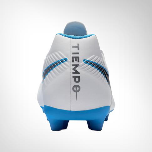 3bd5b2deaf Men s Nike Tiempo Legend 7 Club FG White Grey Blue Boot