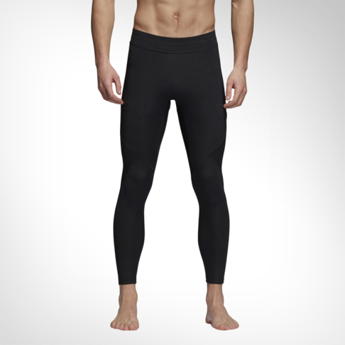 17916dddcea73 Men's adidas Alphaskin Tech Long Black Tights