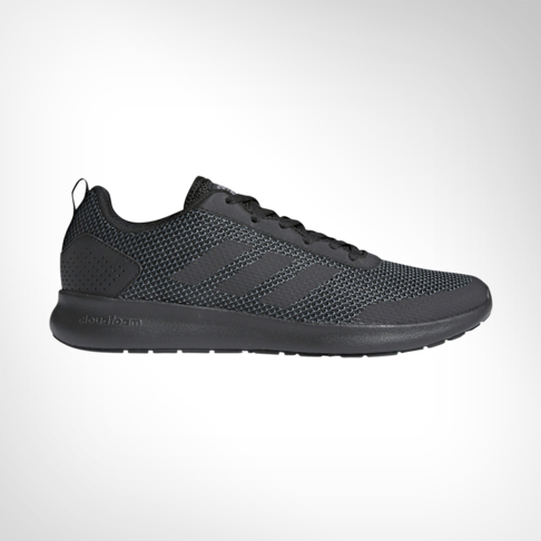 92e715337 Men s adidas Cloudfoam Element Race Black Shoe