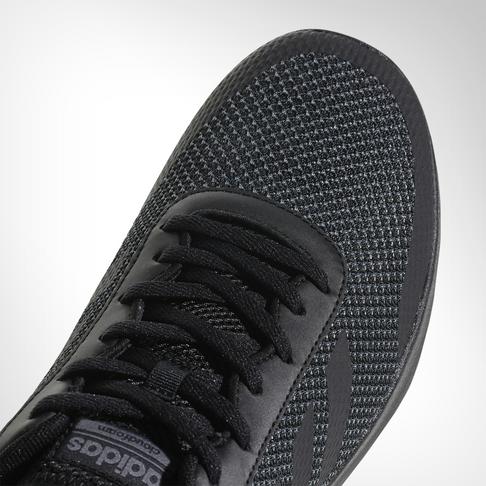 low priced 884ac 3c46d Men's adidas Cloudfoam Element Race Black Shoe