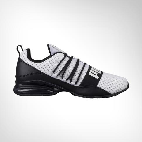 Men s Puma Cell Pro Limit White Black Shoe 6004d4ce1