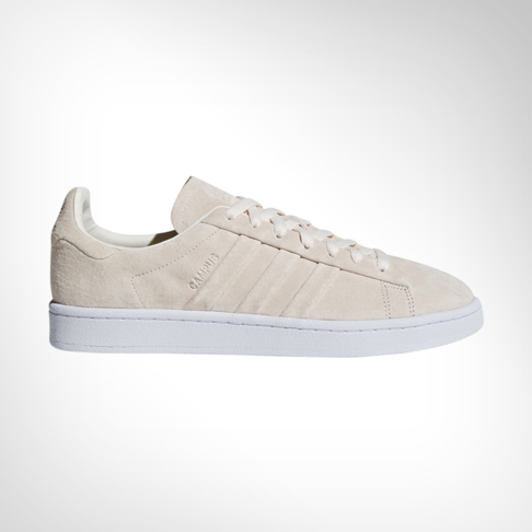 sale retailer 11eb9 a93c2 Men s adidas Campus Stitch   Turn Suede Cream Shoe
