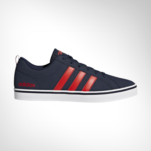aaba5f9c6611 Men s adidas Neo VS Pace Navy Red Shoe