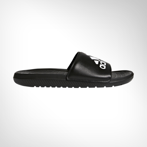 1f76779a5708 Men s adidas Voloomix Black White Slide