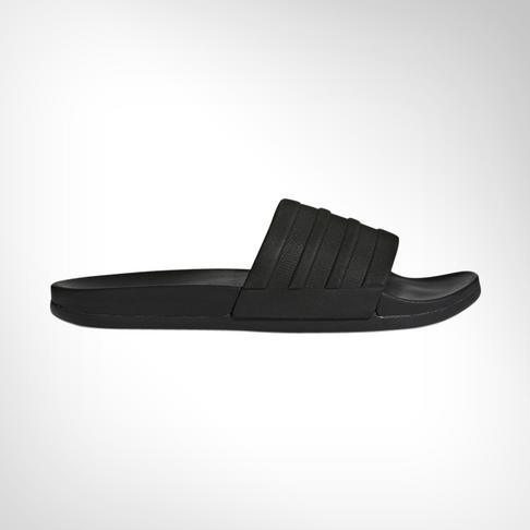 timeless design 8d96d 3a752 Mens adidas Adilette Cloudfoam Mono Black Slide