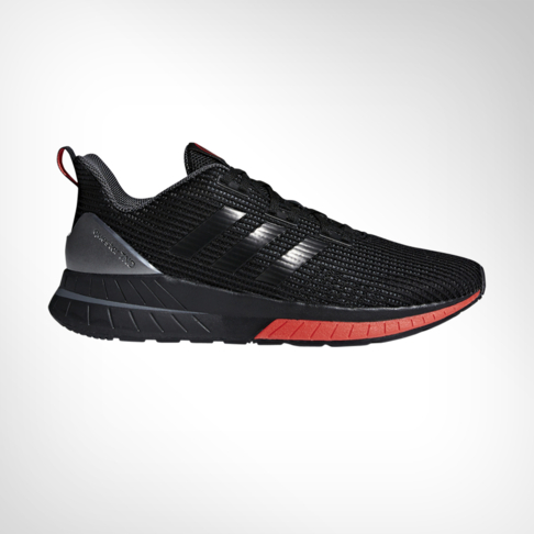 0a10872c7ee9d Men s adidas Questar Ride Black Red Shoe