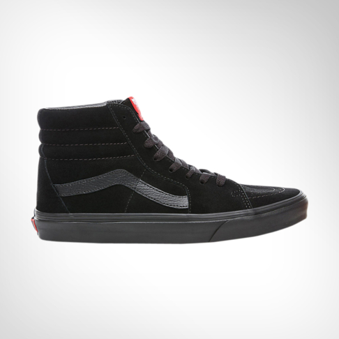 afcad98627f88e Men s Vans SK8 HI Suede Black Shoe
