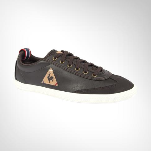 quality design f0727 633d1 Men s Le Coq Sportif Provencale Low Craft PU Brown Shoe