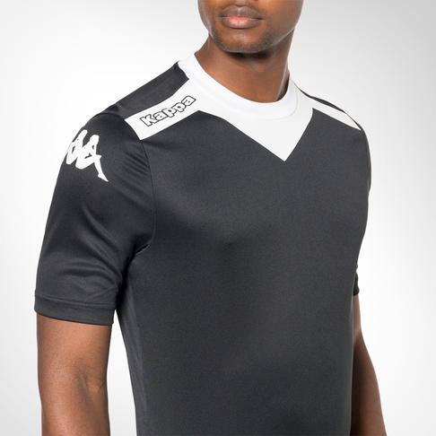 ea0c93f5b Men s Kappa Zexes Black White Team Kit