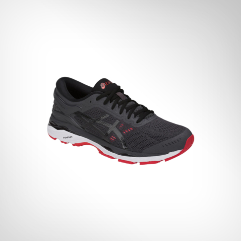 49934e38fd5 Men s Asics Gel Kayano 24 Grey Red Shoe