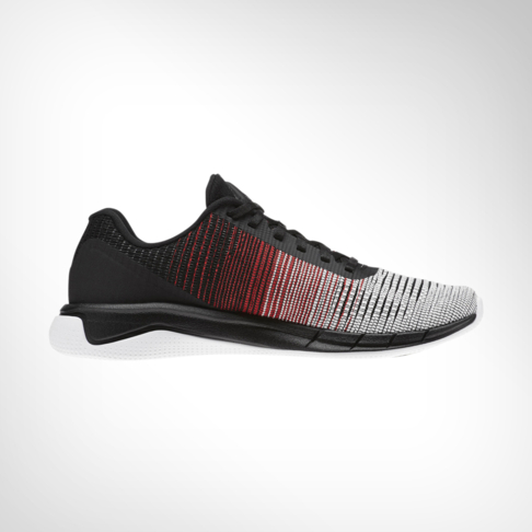 Men s Reebok Flex Weave Run White Red Shoe 3d0d81b22
