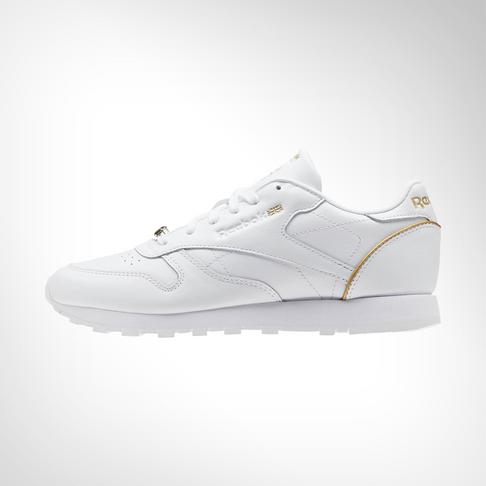 Women s Reebok Classic Leather HW White Shoe 6f8fdb94711c