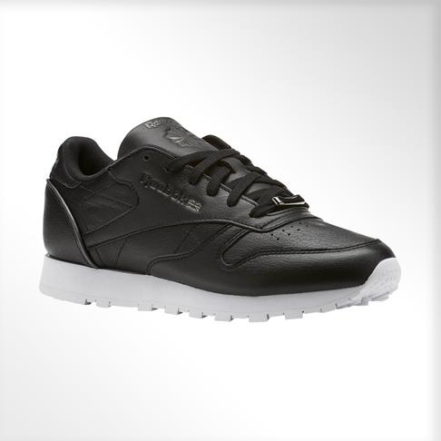 ad5ff299214 Women s Reebok Classic Leather HW Black Shoe