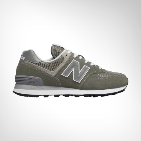 huge selection of 3cd7b 1aaef Women's New Balance 574 Sport Grey/Green Shoe