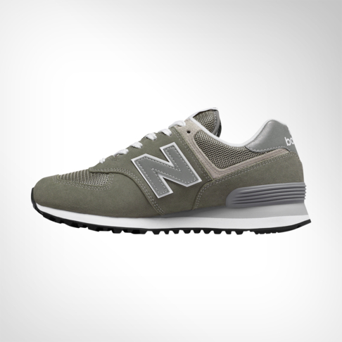 huge selection of 603fc f52d0 Women's New Balance 574 Sport Grey/Green Shoe