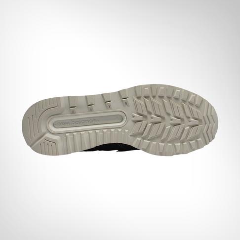 size 40 5cb32 7f9af Men's New Balance MS574 Sport Black Suede Shoe