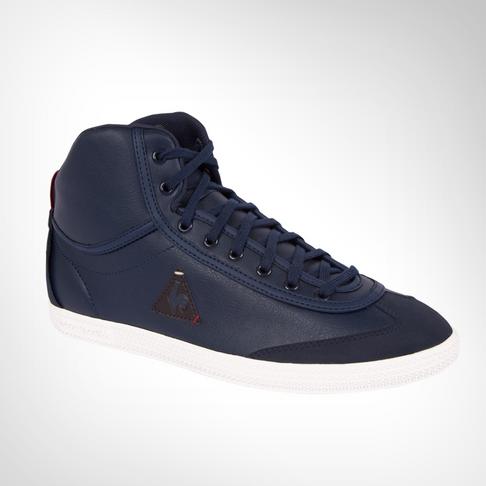 41e1df4560d Men's Le Coq Sportif Provencale II Mid Craft PU Navy Shoe