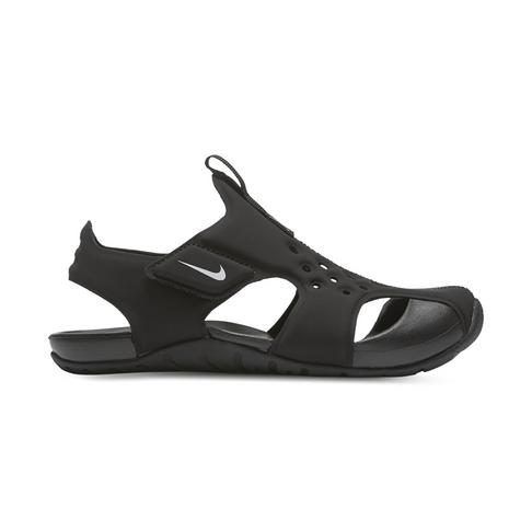 3f3c01416d10 Junior Pre-School Nike Sunray Protect Black Sandal