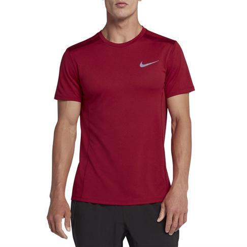 56d651de0b4a Men s Nike Cool Miler Short-Sleeve Red Crush Running Top