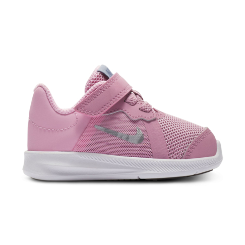 ddd6d66ae382a Infants  Nike Downshifter Pink Silver Shoe