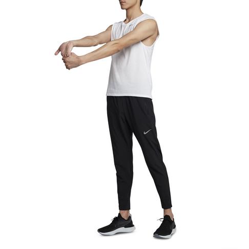 fc90e44e14218 Men's Nike Essential Woven Black Running Pants