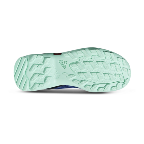 a05e720404cd4 Junior Grade School adidas AX2 Blue White Turquoise Shoe