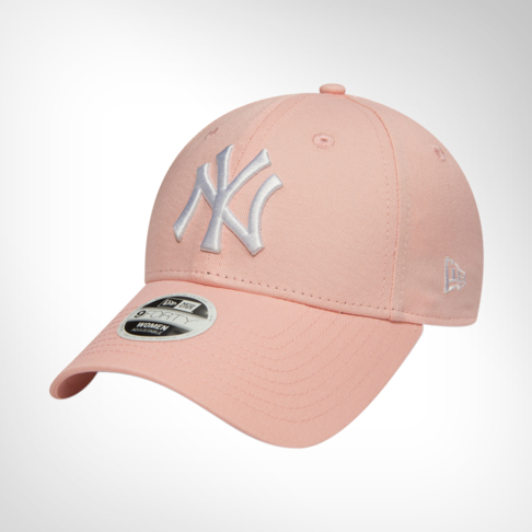 Women s New Era 9Forty New York Yankees Pink White Cap d44db21700a
