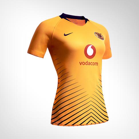 f7d20af65 Women s Nike Kaizer Chiefs 2018 19 Home Replica Jersey