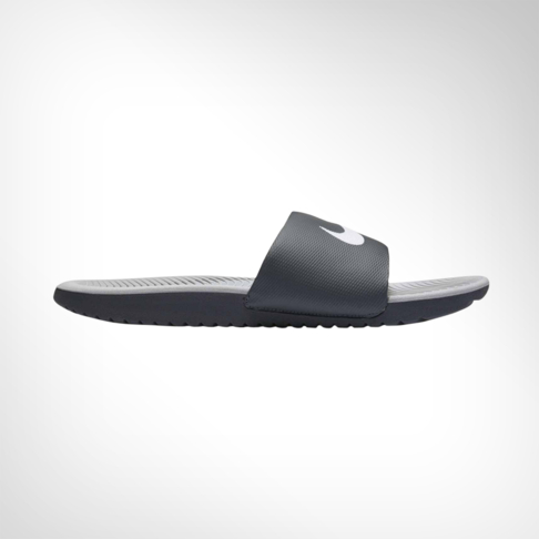 6b09e3770 Men s Nike Kawa Slide Grey White Sandal