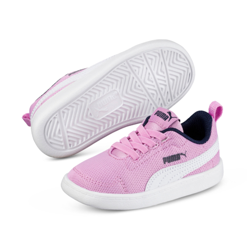 nouvelle arrivee 3af9b 9251b Infants' Puma Court Flex Mesh Purple/Navy Shoe