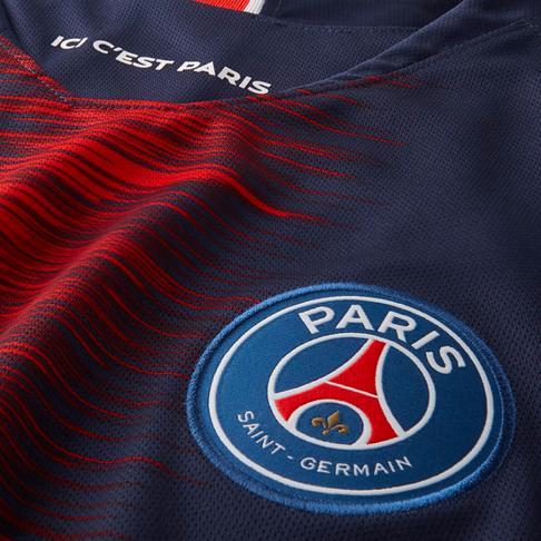 e967a4ed602 Men s Nike Paris Saint-Germain Home Stadium Jersey