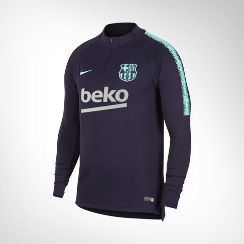 official photos d5f90 6094f Men s Nike FC Barcelona Squad Drill Top