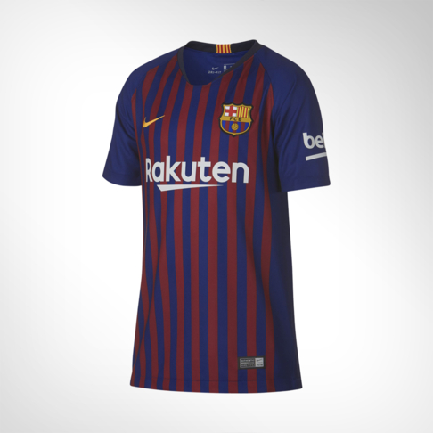 b280952da Junior Nike FC Barcelona Stadium Home Replica Jersey
