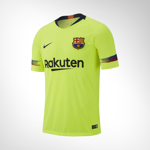 size 40 6be9d d2374 Men's Nike FC Barcelona Away Stadium Replica Jersey