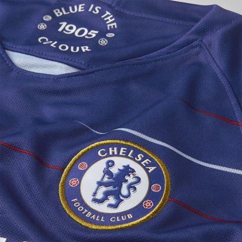 3f962438ff0 Junior Nike Chelsea FC Home Stadium Short-Sleeve Jersey
